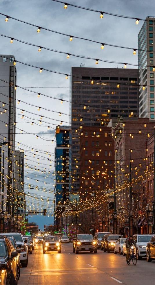 Downtown Denver city street
